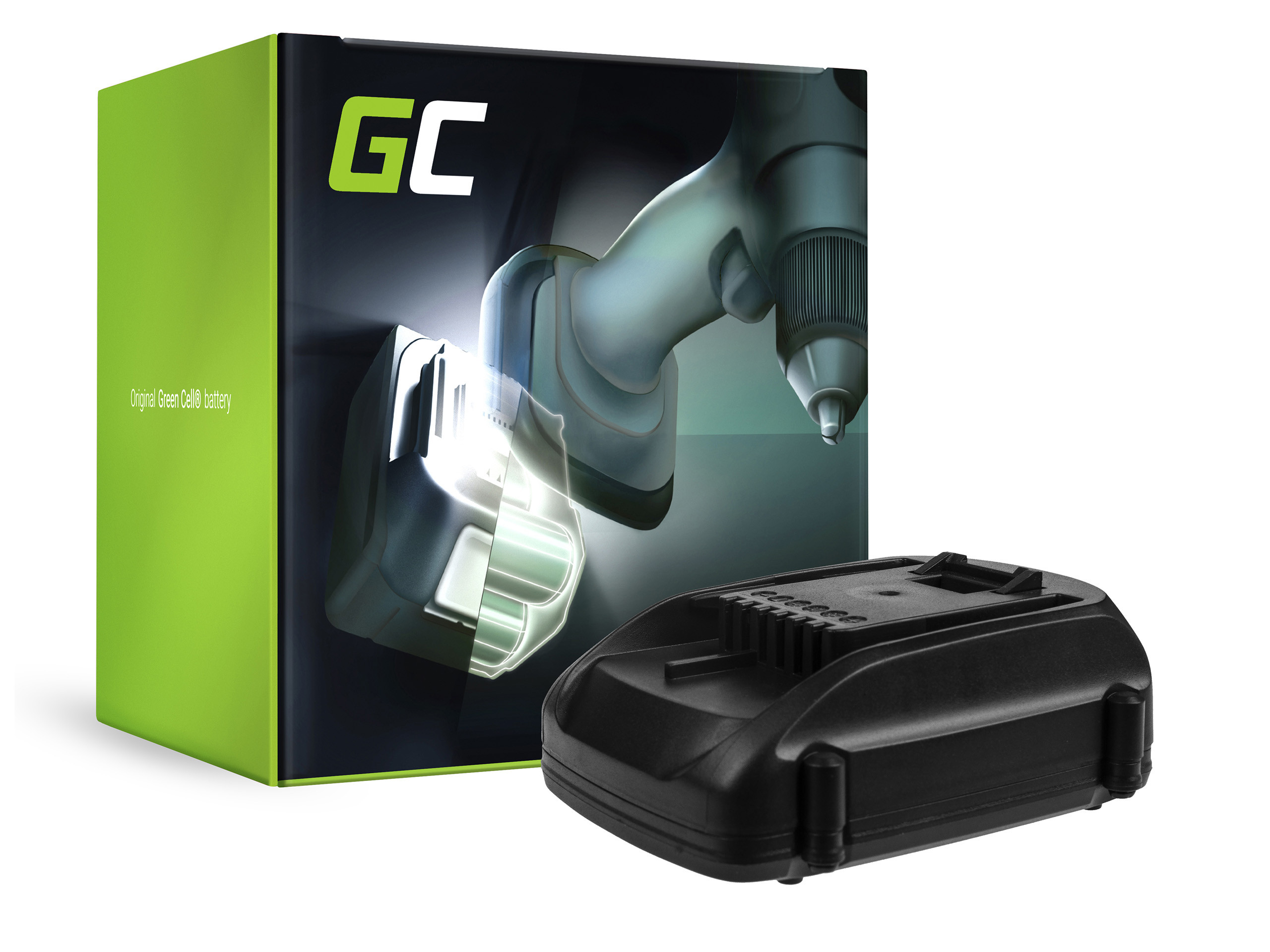 Baterie Green Cell WORX WA3511 WA3512 WA3516 WA3523 WG151 WG251 WG540 WU289 WU381 WX163 WX164 18V 2000mAh Li-ion - neoriginální