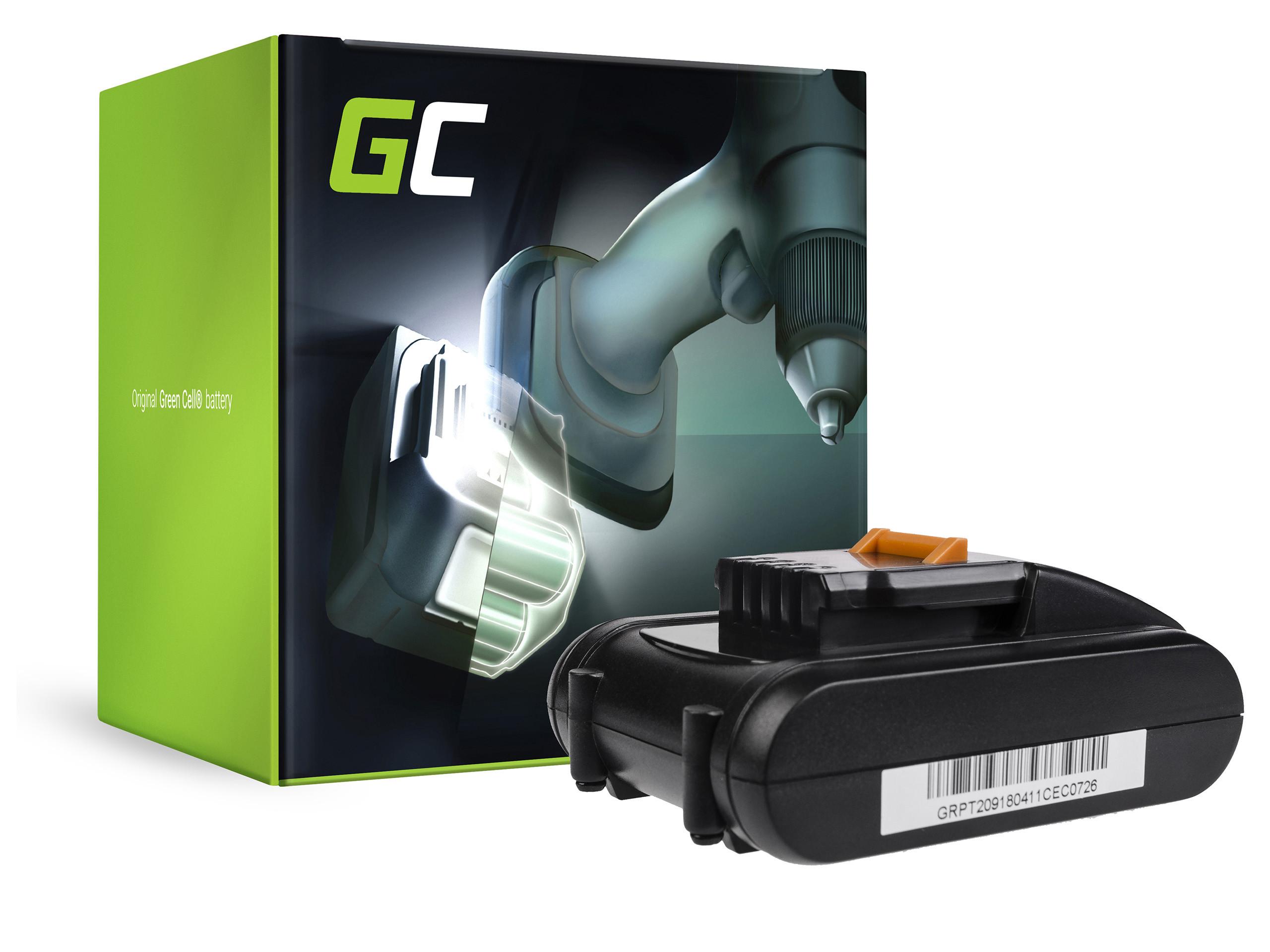 Green Cell PT209 Baterie Worx WA3527 WA3539, WORX WX152 WX152.1 WX152.2 WX152.3 WX156 WX156.1 WX373 2Ah 16V Li-ion - neoriginální