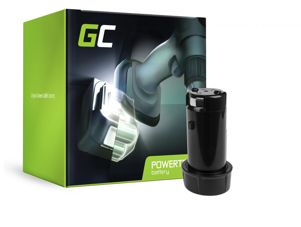 Green Cell Power Tool akkumulátor M4 B2 48-11-0490 48-11-2001 Milwaukee M4 D-202B M4C M4 2101-20 M4 2101-22 0490-20 0490-22
