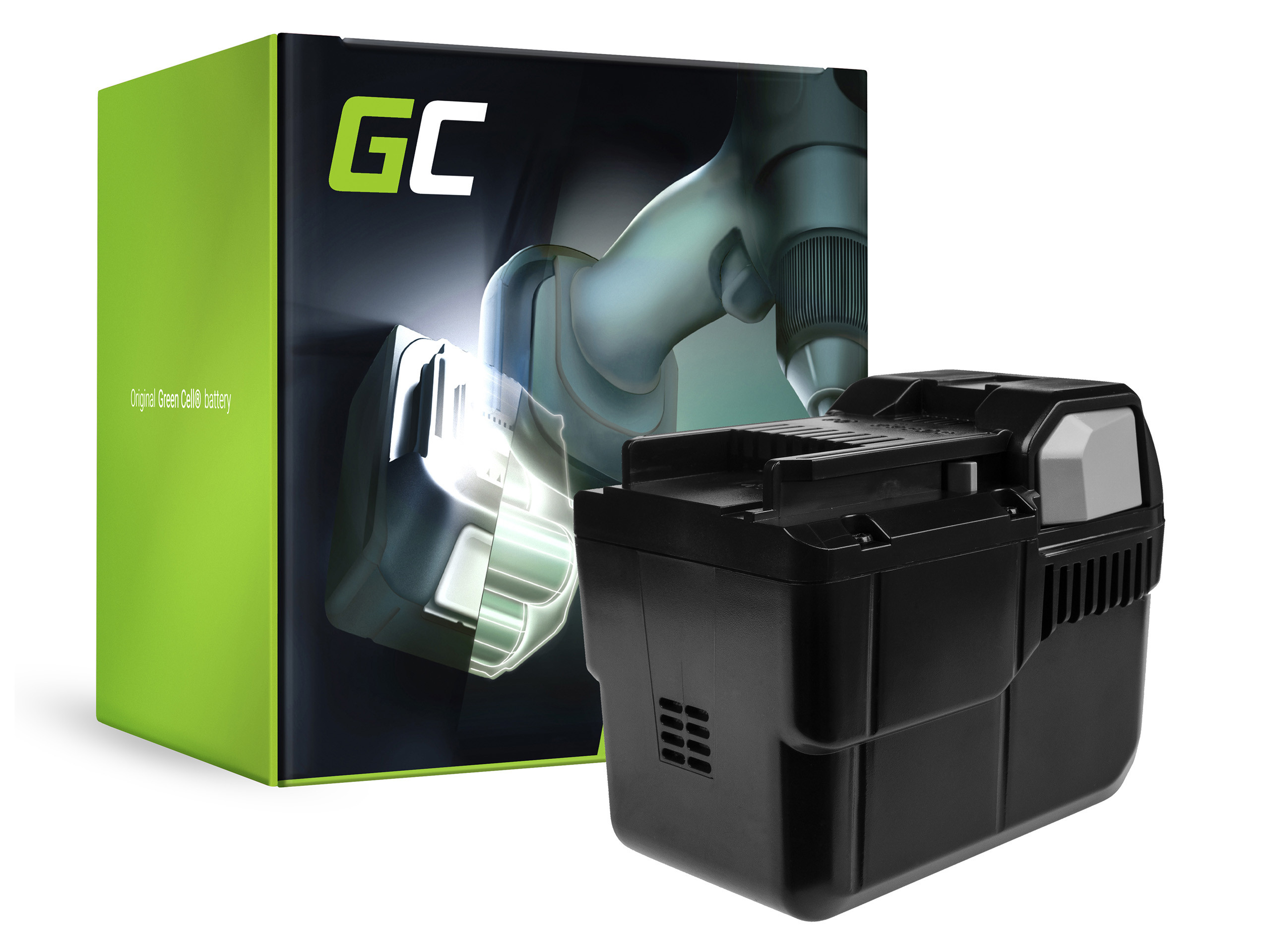 Green Cell Power Tool Battery BSL 3620 BSL 3626 for Hitachi CG 36DL CS 36DL DH 36DL ML 36DL RB 36DL