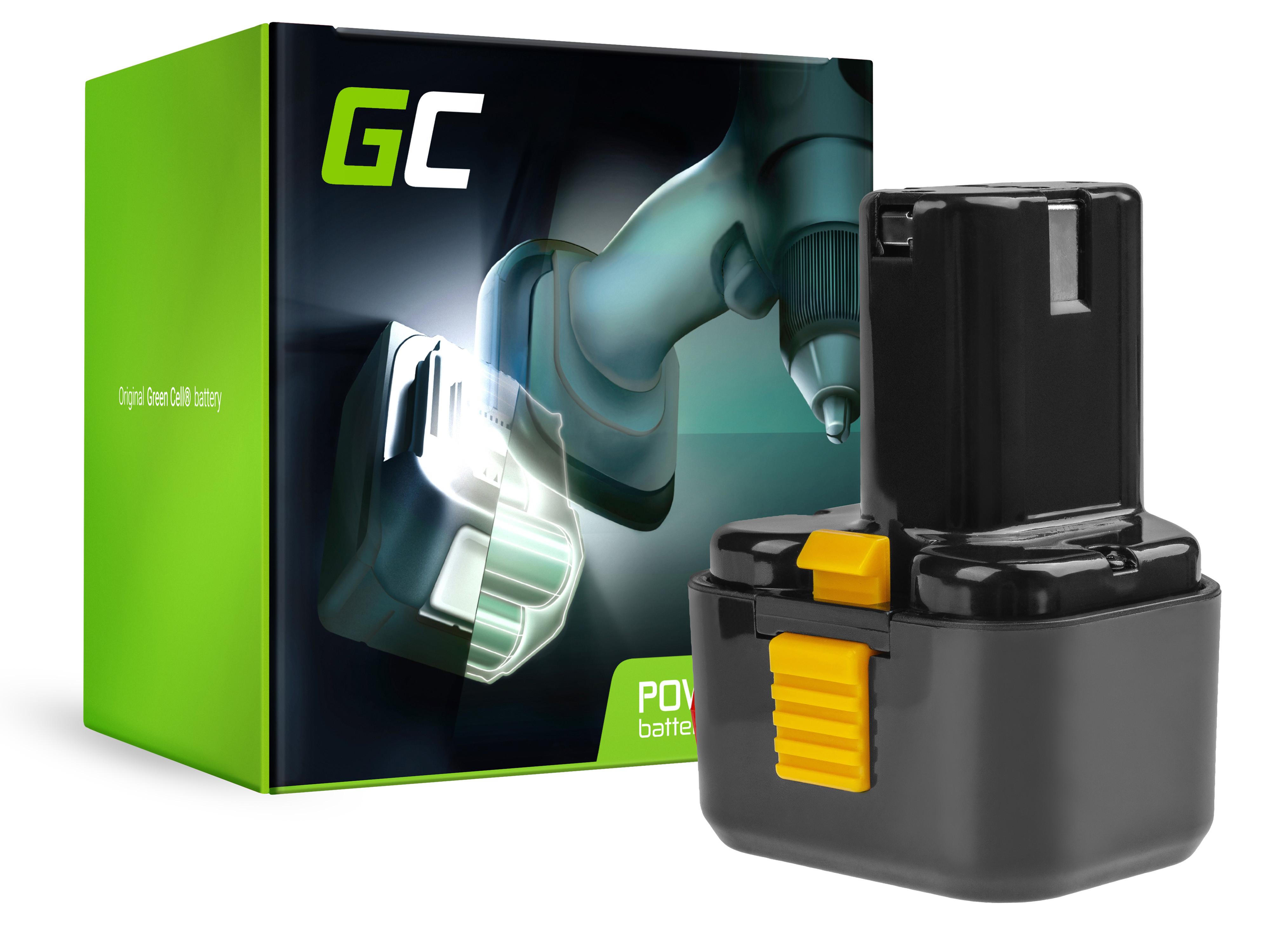 Baterie Green Cell Hitachi EB9B EB926H EB930H 9.6V 2000mAh Ni-MH – neoriginální