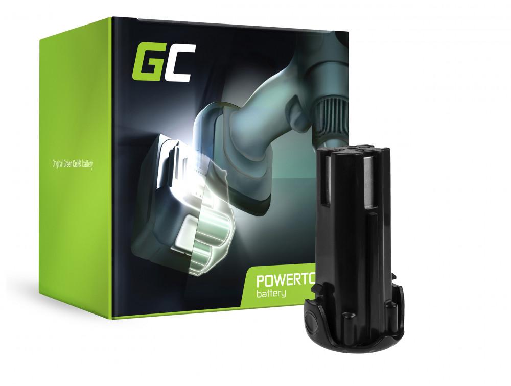 Green Cell Power Tool akkumulátor EBM315 3.6V 1.5Ah Hitachi DB3DL DB3DL2