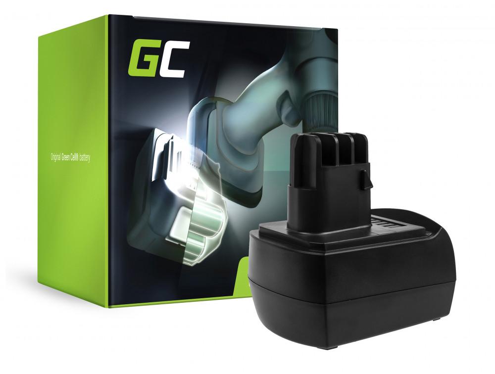 Green Cell Power Tool akkumulátor 9.6V 2.1Ah Metabo BS BST BSZ BZ 9,6 Impuls SP ULA 9,6-18