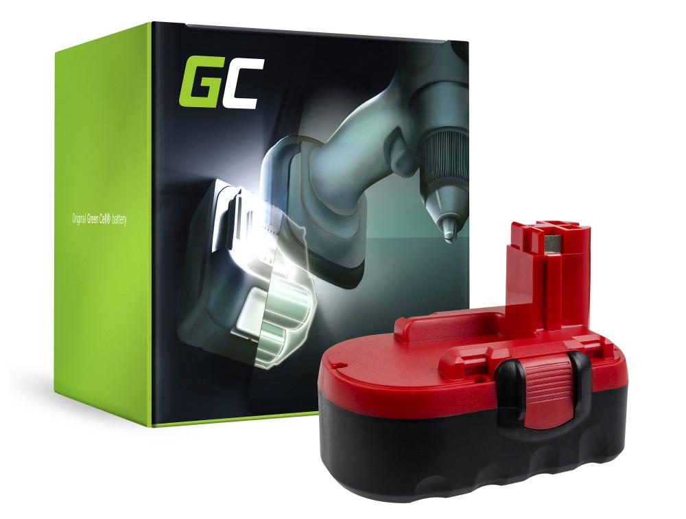 Green Cell Power Tool akkumulátor BAT025 BAT160 BAT180 Bosch PSR 18 VE-2 GSB 18 VE-2 GSR 18 VE-2 PSB 18 VE-2