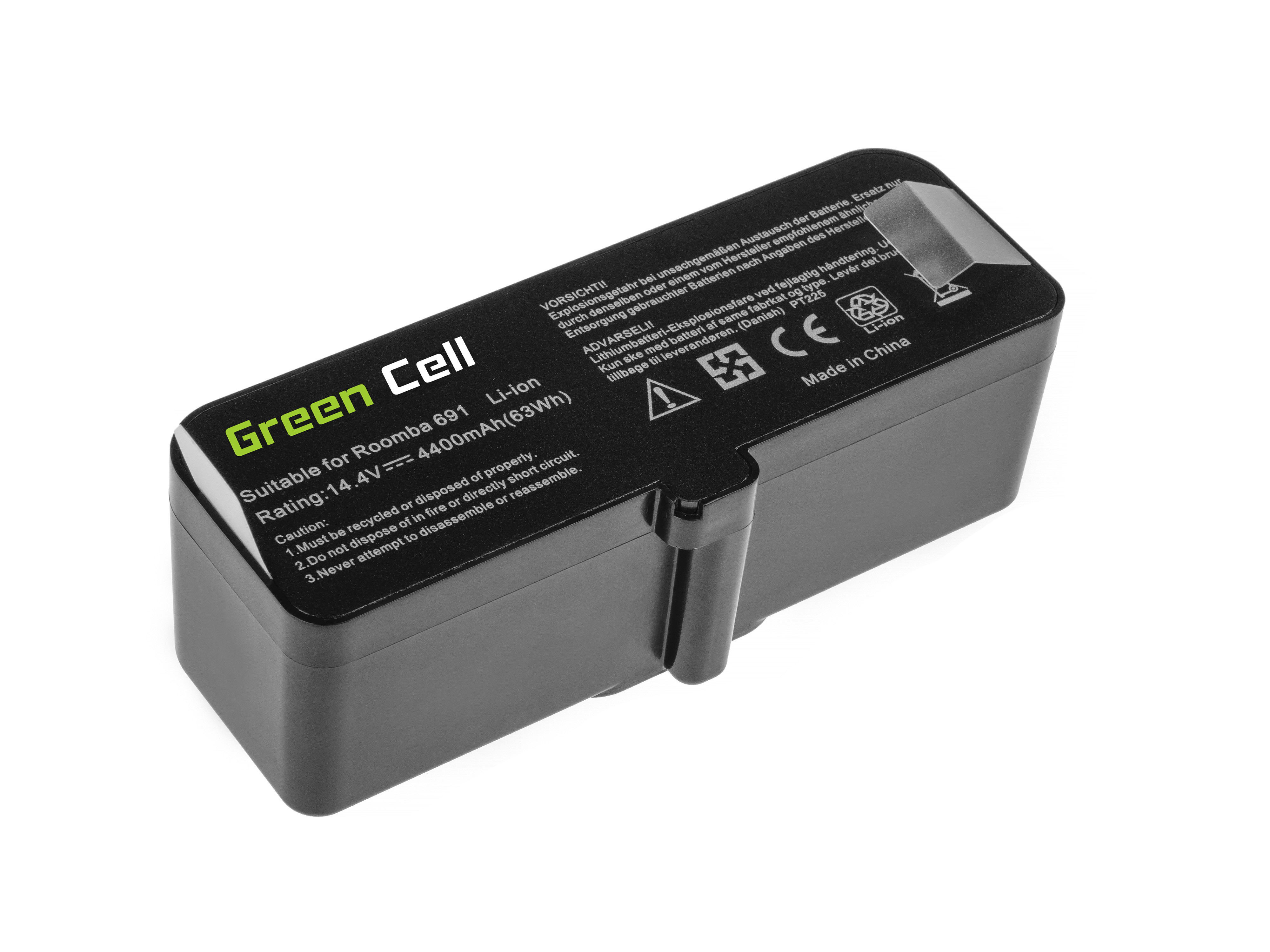 Green Cell Power Tool Battery 4462425 4502233 Robot Roomba 681 691 695 696 801 805 850 860 890 891 895 896 960 966 980 985