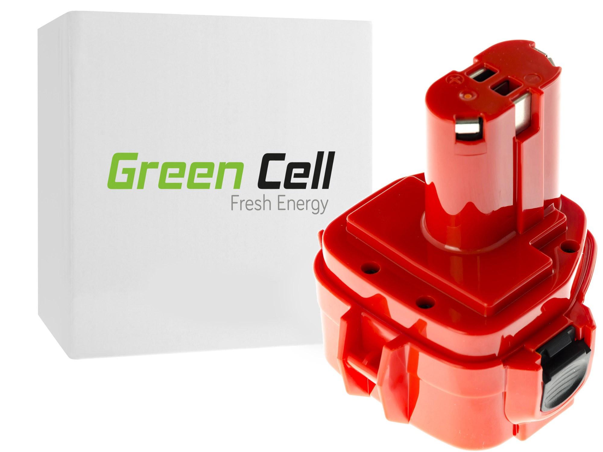 Baterie Green Cell Baterie Makita 1220 Makita Celma WAK12 12V 2000mAh Ni-CD – neoriginální