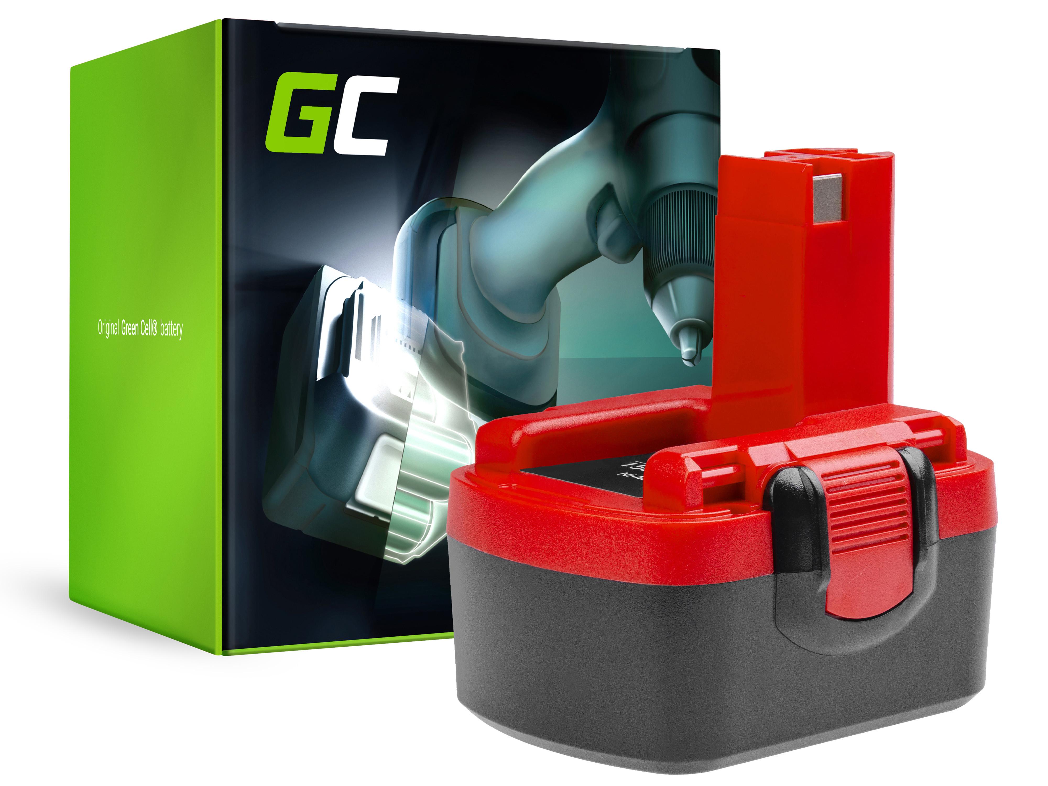 Baterie Green Cell Bosch GSR PSR 14,4V 1500mAh Ni-MH – neoriginální