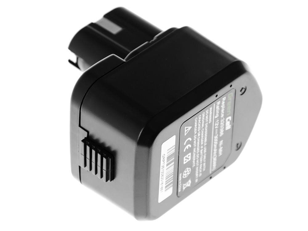 Baterie Green Cell Hitachi EB12B EB1220BL 12V 3000mAh Ni-MH – neoriginální