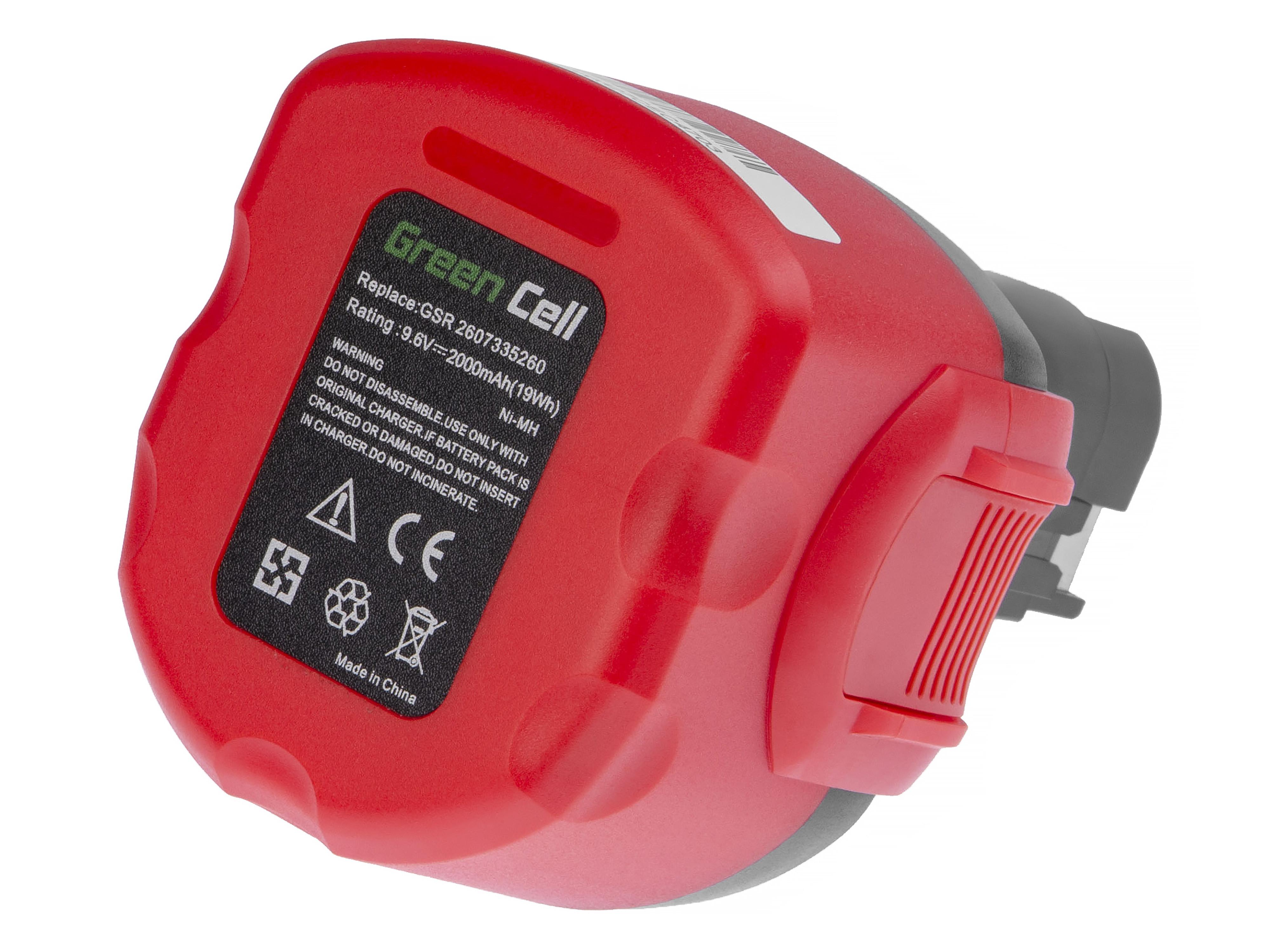 Green Cell Baterie BAT0408 BAT100 pro BOSCH EXACT GSR PSR
