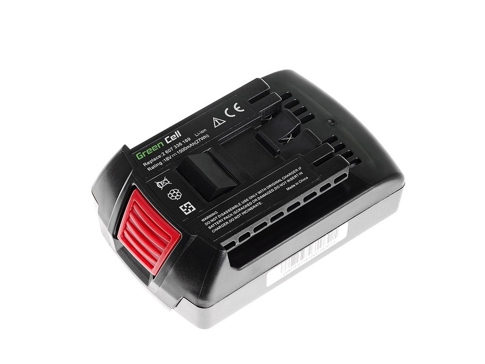 Green Cell Baterie BAT609 BAT618 BAT620 pro BOSCH 17618 GDS 18 V-LI HT