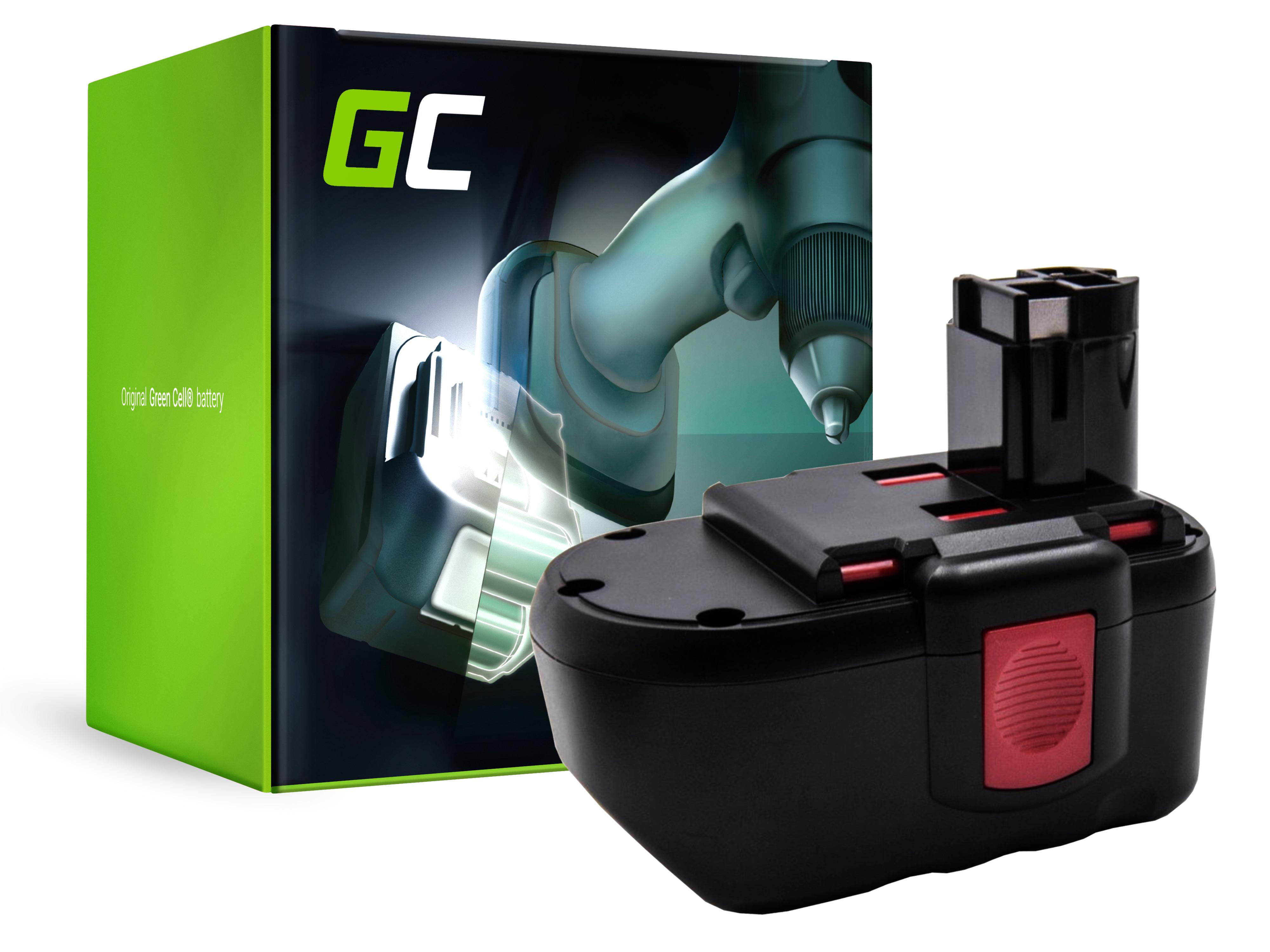 Baterie Green Cell Bosch BAT030 BAT240 BTP1005 24V 3000mAh Ni-MH – neoriginální