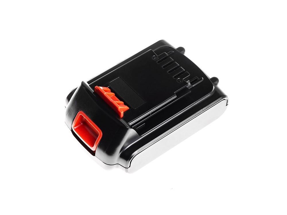 Baterie Green Cell Black&Decker BL1518 BL2018 BL3018 18V 1500mAh Li-ion - neoriginální