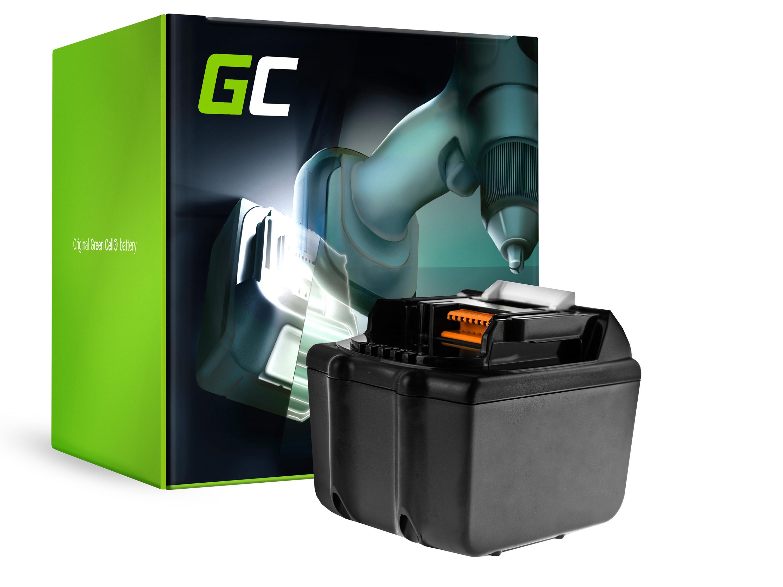 Baterie Green Cell Makita BL1815 BL1830 BL1830B BL1840 BL1840B BL1850 BL1850B do Makita DTD152 DC18RC DDF451 DC18SD LXPH01 18V 7500mAh Li-ion - neoriginální