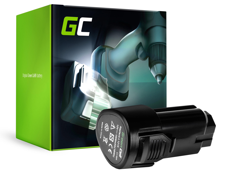 Baterie Green Cell AEG L1215 BS 12C 12V 1500mAh Li-ion - neoriginální