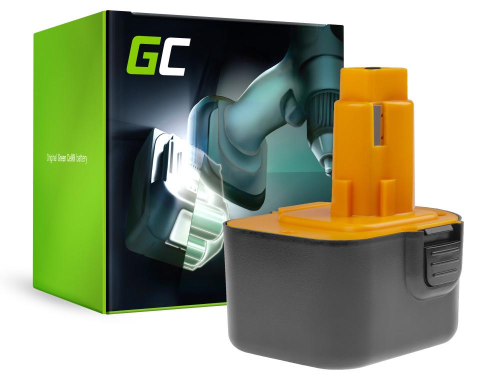 Power Tools Akkumulátor DE9037 PS130 DeWalt és Black & Decker 12V 3000mAh