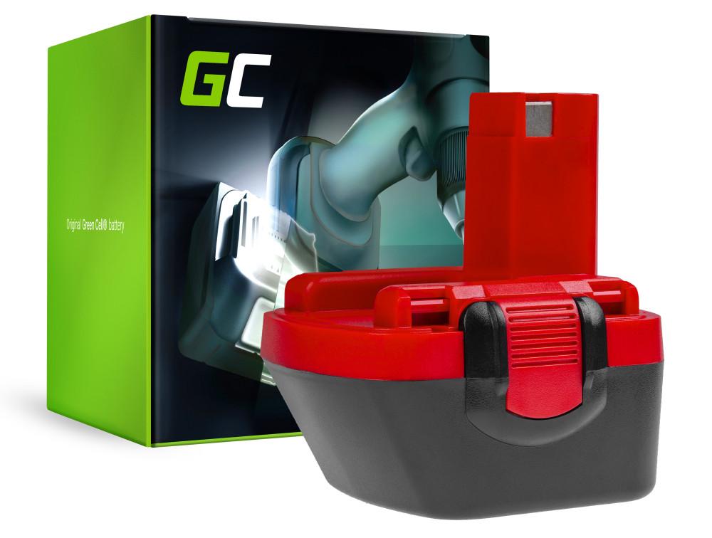 Green Cell Powertool akkumulátor BL1830 a BAT043 Bosch O-Pack 3300K PSR 12VE-2 GSB 12 VSE-2 12V 3000mAh