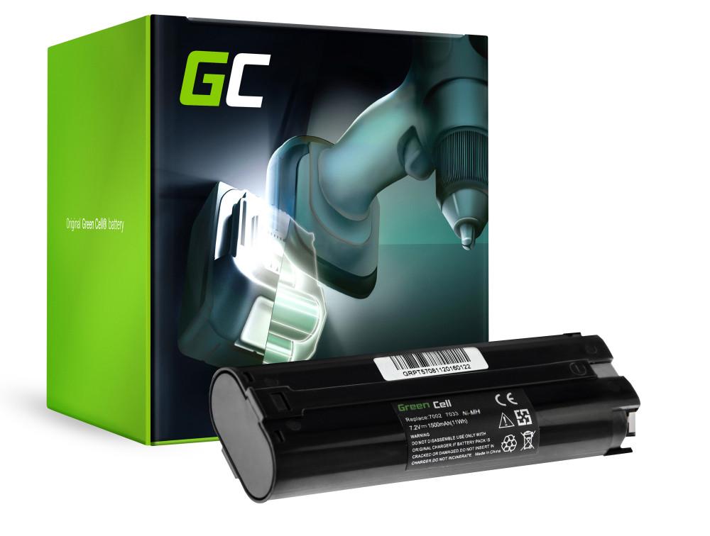 Green Cell Baterie 7000 7033 pro Makita ML700 ML701 ML702 3700D 4071D 6002D 6072D 9035D 9500D 1500mAh