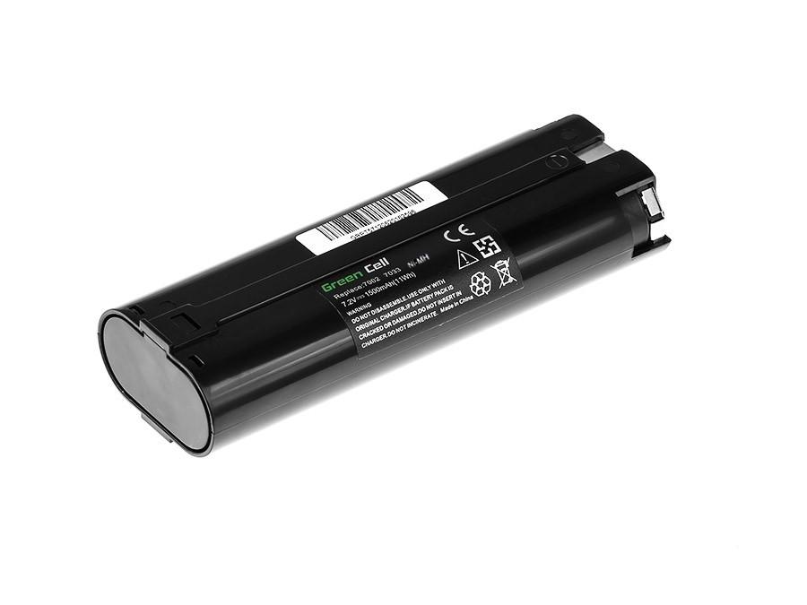 Baterie Green Cell Makita 7000 6015DWK 9200D 7.2V 1500mAh Ni-MH – neoriginální