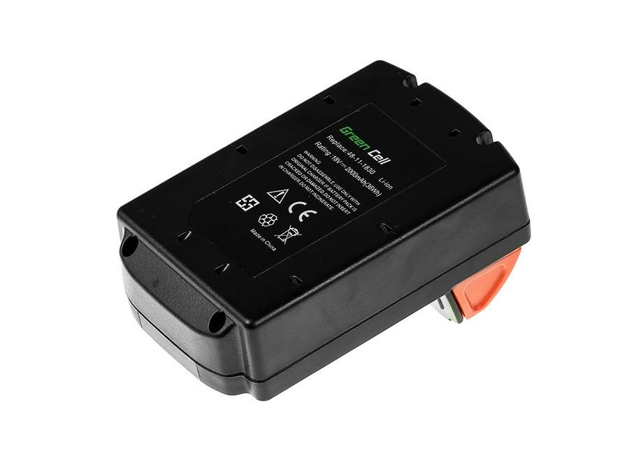 Green Cell Baterie 48-11-1830 pro Milwaukee C18 M18 18V 2000mAh