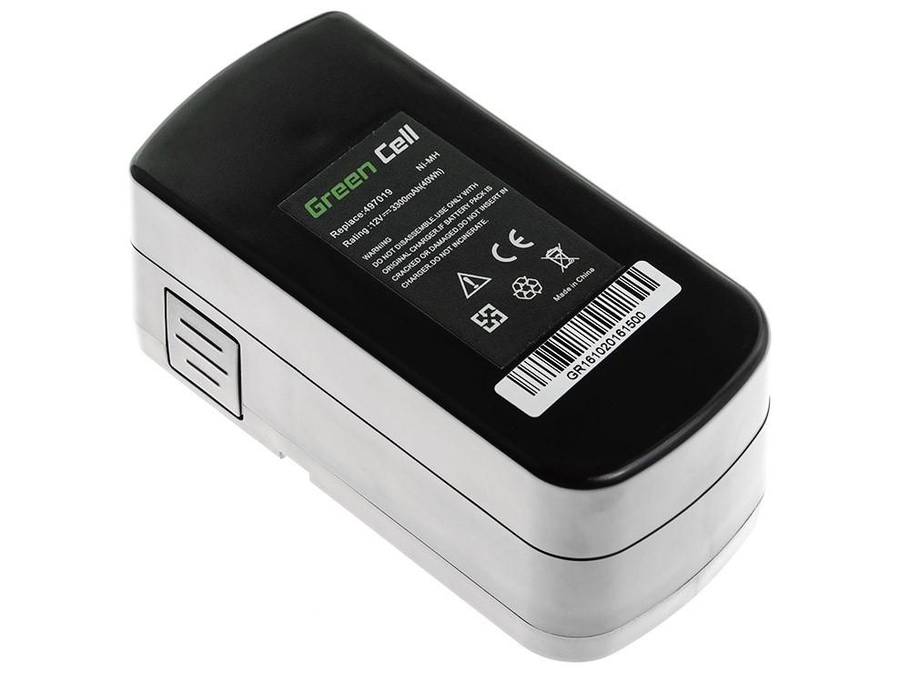 Green Cell Baterie Festool C 12 Festool T 12+3 12V 3.3 Ah