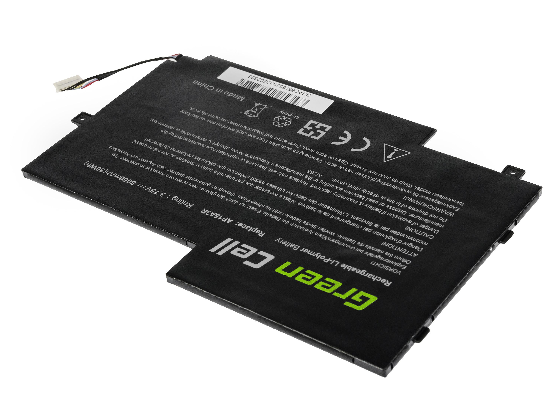 Green Cell AC65 Baterie Acer AP15A3R/AP15A8R/KT.00203.009/Acer Aspire Switch 10 E 8050mAh Li-Pol – neoriginální