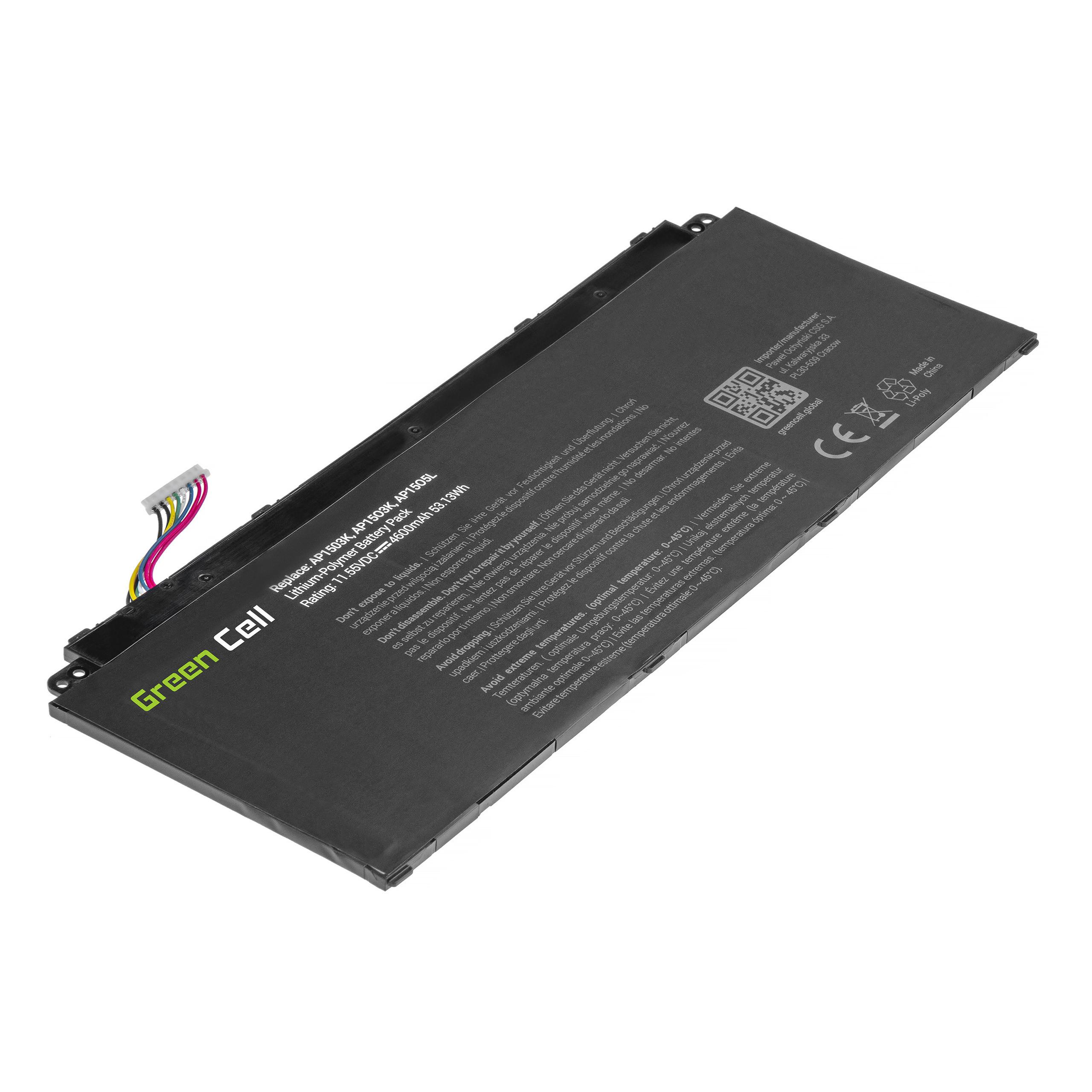 Green Cell Baterie AP15O3K AP15O5L pro  Acer Aspire S 13 S5-371 S5-371T Swift 5 SF514-51 Chromebook R 13 CB5-312T