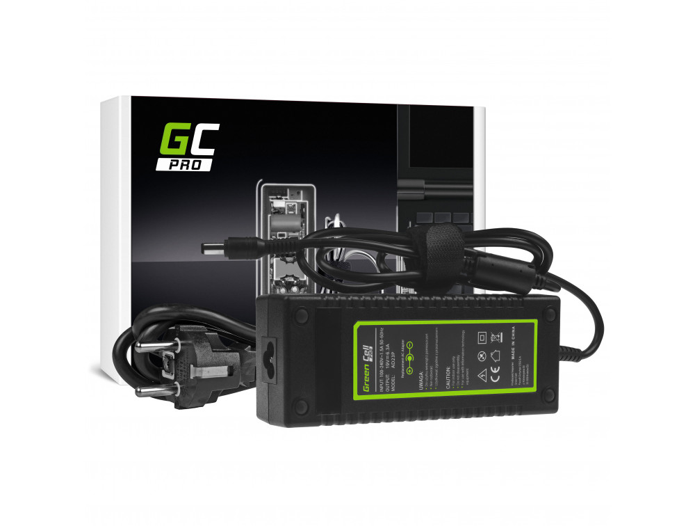 AC adapter Green Cell PRO 19V 6.3A 120W Toshiba Satellite A35 P10 P15 P25