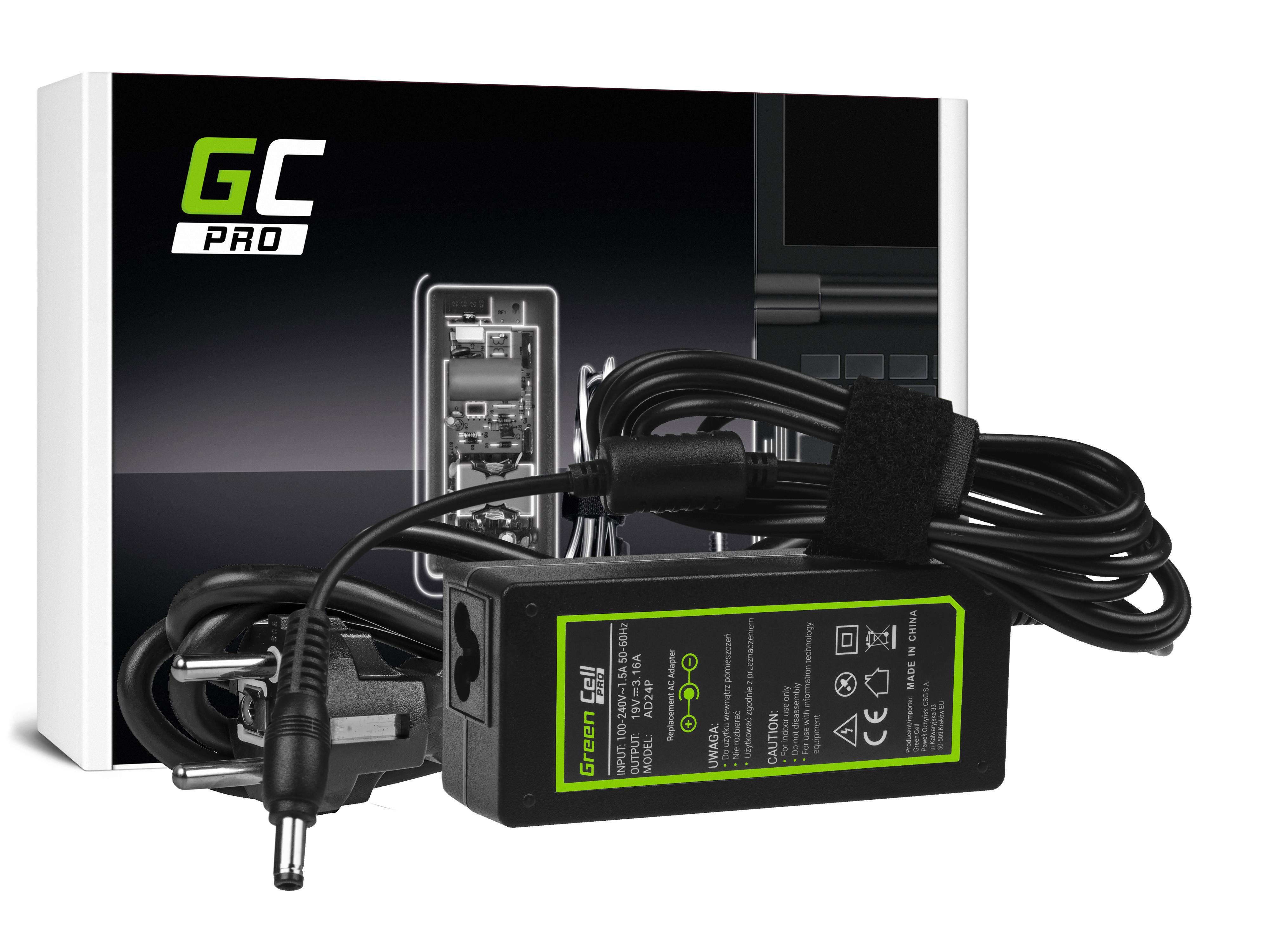 Green Cell AD24P Nabíječka Adaptér pro Dell Inspiron 1200 1300 3200 3500 3700 B120 B130 19V 60W