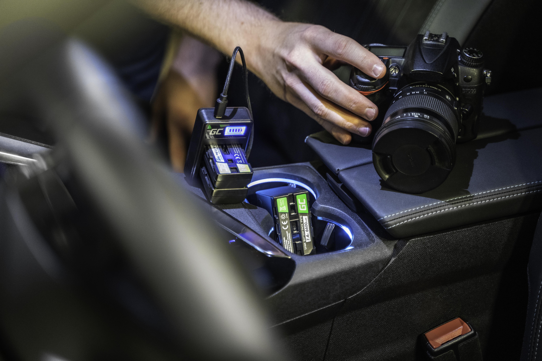 Green Cell Nabíječka MH-23 pro Nikon EN-EL9, DSLR D40, D40X, D60, D3000, D5000
