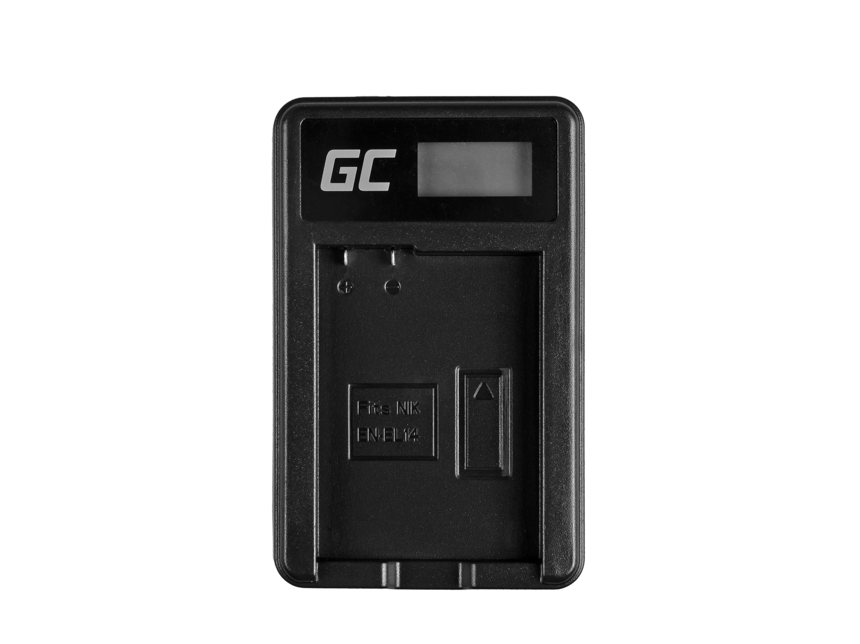 Green Cell Battery Charger MH-24 for Nikon EN-EL14, D3200, D3300, D5100, D5200, D5300, D5500, Coolpix P7000, P7700, P7800