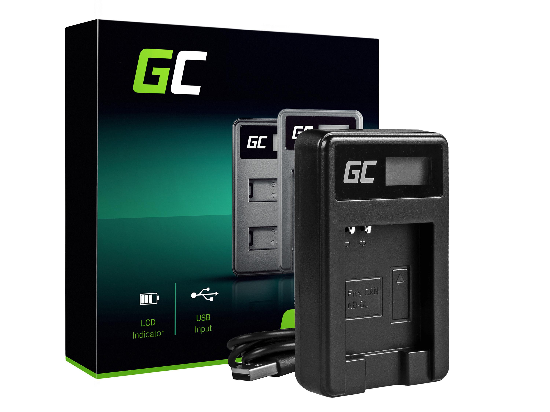 Green Cell Nabíječka CB-2LY pro Canon NB-6L/6LH, PowerShot SX510 HS, SX520 HS, SX530 HS, SX600 HS, SX700 HS, D30