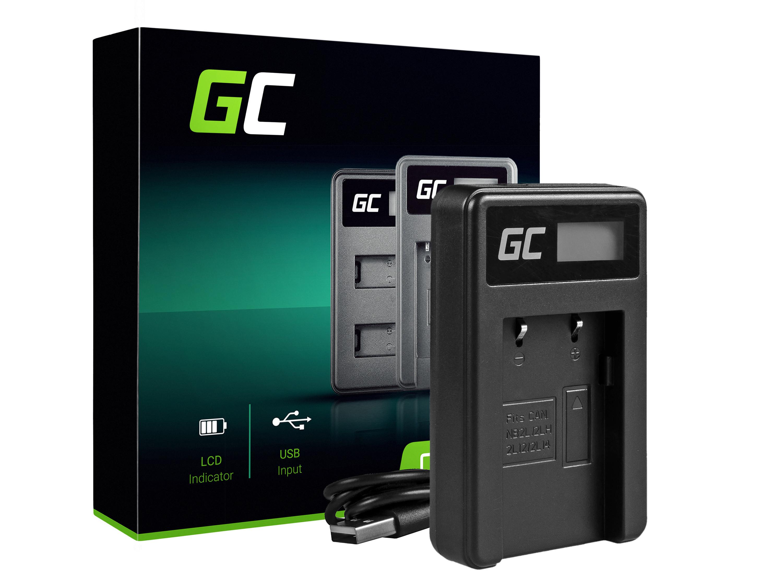 Green Cell Nabíječka CB-2LW pro Canon NB-2L / NB-2LH, PowerShot G7 G9 S70 S80 R100 R11 Canon Elura 85 90 EOS 350D 400D