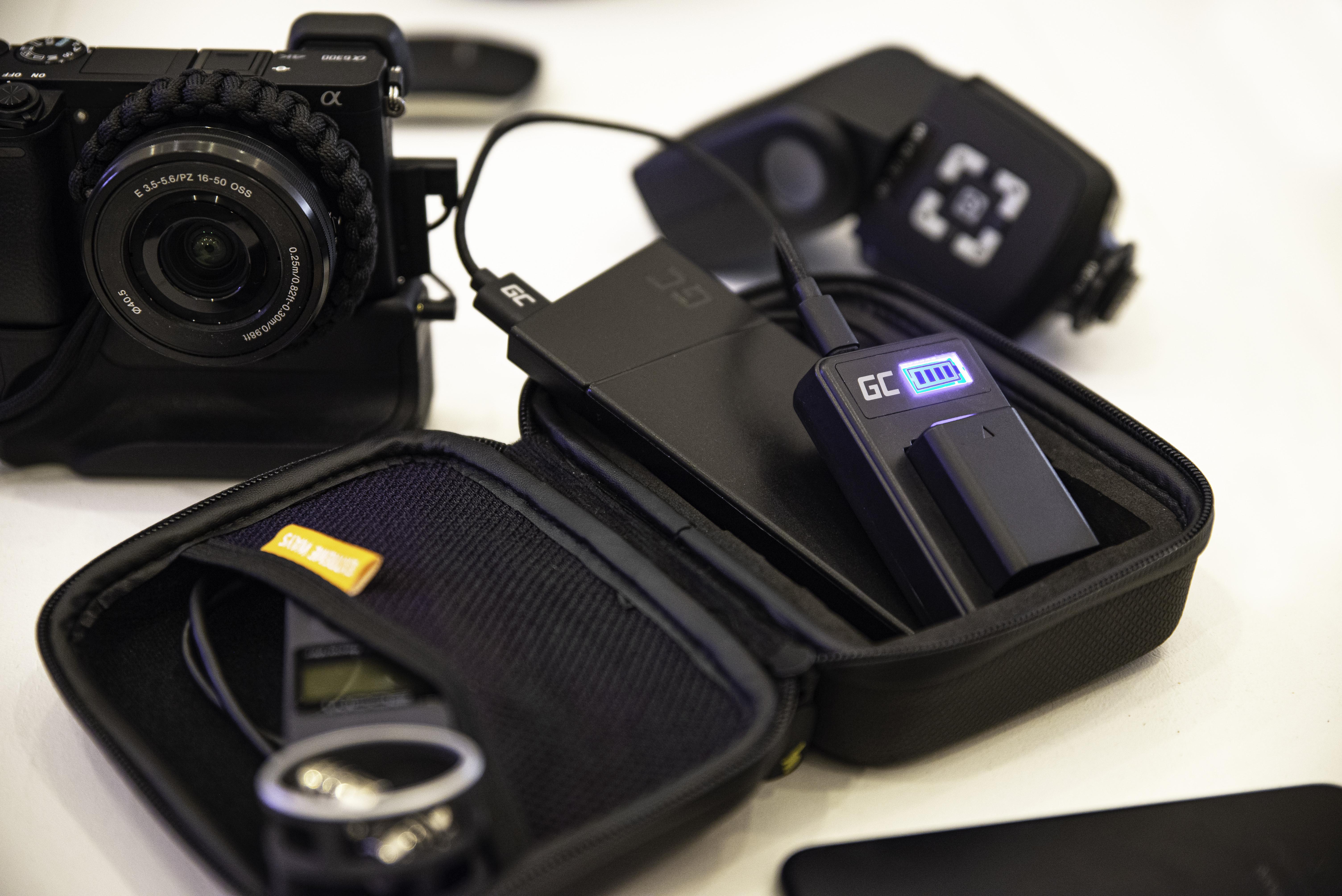 Green Cell Nabíječka LC-E17 pro Canon LP-E17, EOS 77D, 750D, 760D, 8000D, M3, M5, M6, Rebel T6i, Rebel T6s, EOS Rebel T7i