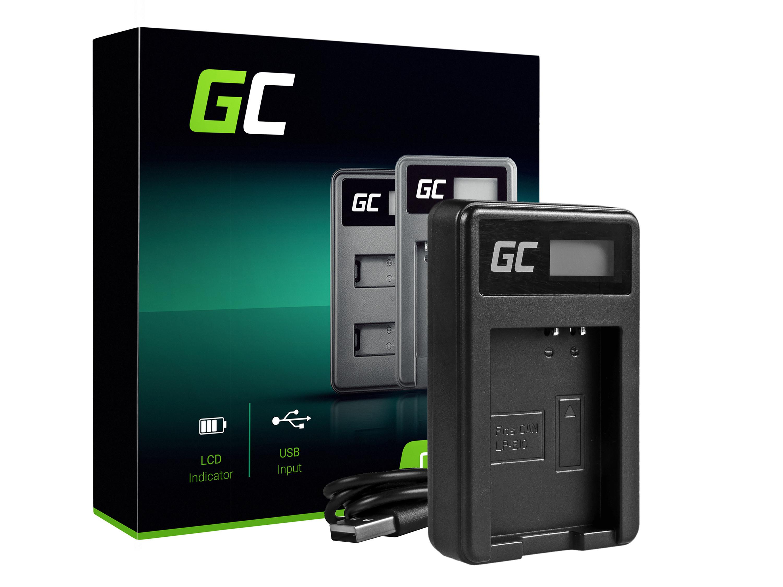 Green Cell Nabíječka LC-E10 pro Canon LP-E10, EOS Rebel T3, T5, T6, Kiss X50, Kiss X70, EOS 1100D, EOS 1200D, EOS 1300D