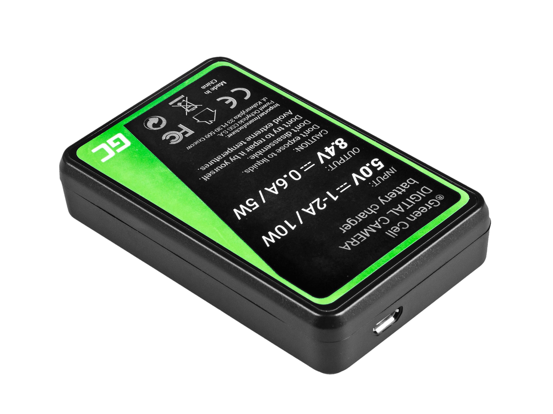 Green Cell Nabíječka CB-5L pro Canon BP-511, EOS 5D, 10D, 20D, 30D, 50D, D30, 300D, PowerShot G1, G2, G3, G5, Pro 1