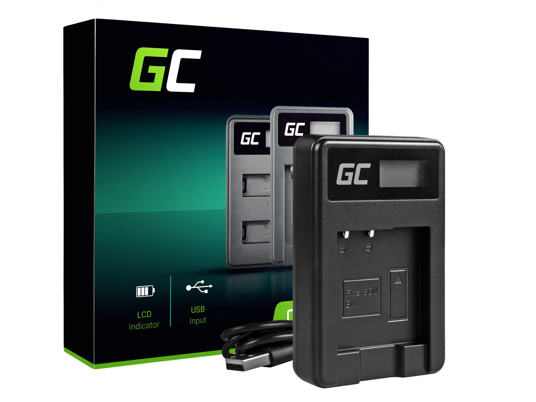 Green Cell Nabíječka BC-CSN pro Sony NP-BN1, Cyber-Shot DSC-QX10 DSC-QX100 DSC-TF1 DSC-TX10 DSC-W530 DSC-W650 DSC-W800