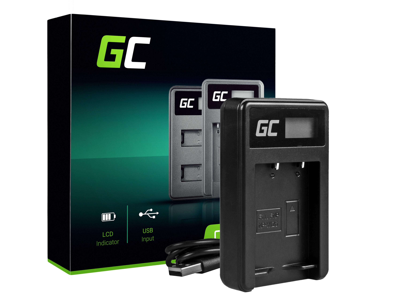 Green Cell Nabíječka BC-W126 pro Fujifilm NP-W126, FinePix HS30EXR, HS33EXR, HS50EXR, X-A1, X-A3, X-E1, X-E2, X-M1, X-T1, X-T2