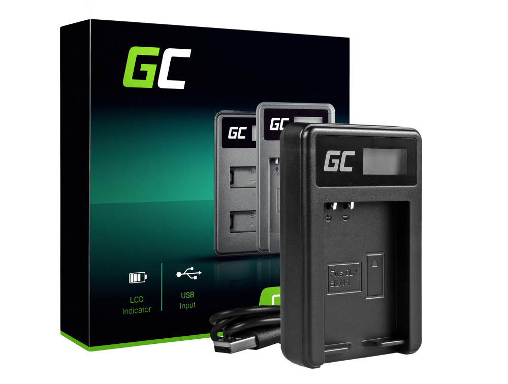 Green Cell akkumulátor töltő BCN-1 Olympus BLN-1 / BCN-1, PEN-F, OM-D EM1, EM5, OM-D EM5 Mark II