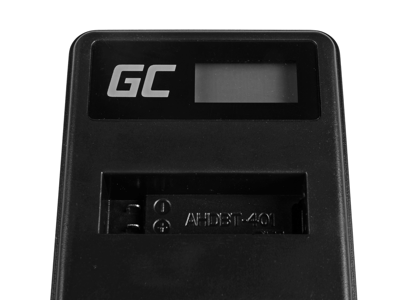Green Cell Nabíječka AHBBP-401 pro GoPro AHDBT-401, HD Hero4