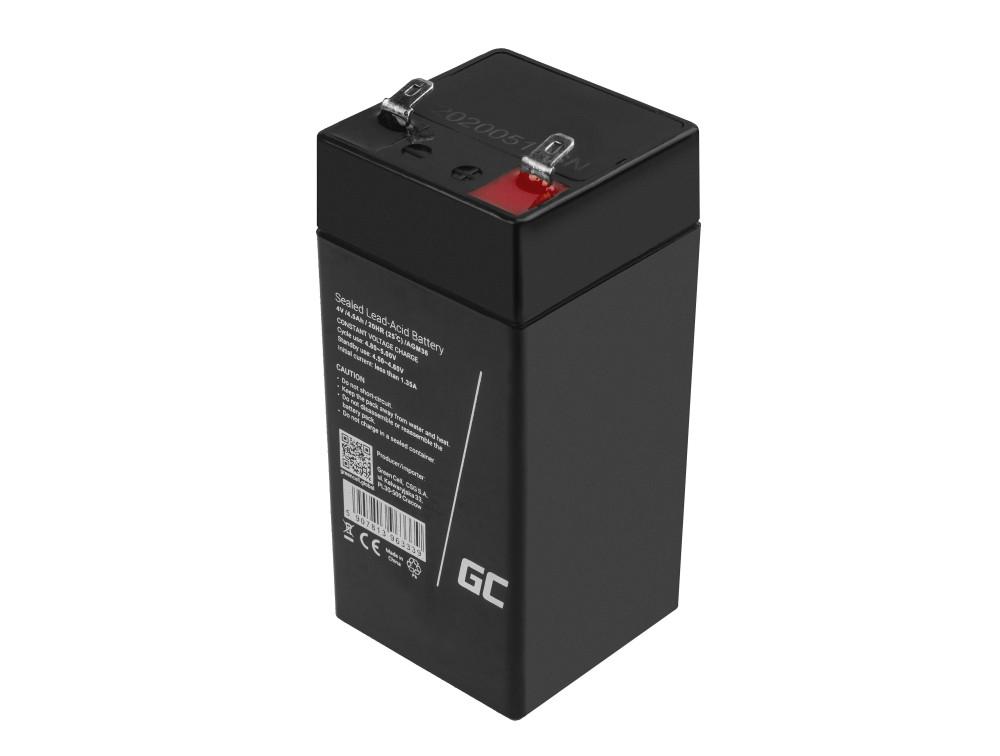 Green Cell Baterie AGM VRLA Green Cell 4V 4.5Ah