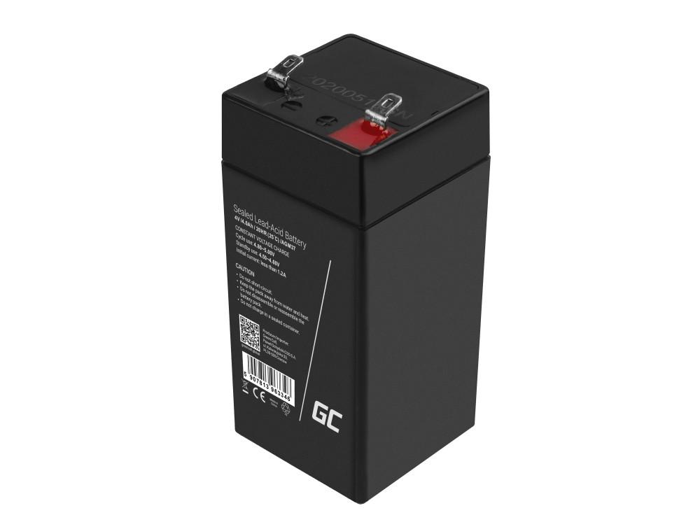 Battery AGM VRLA Green Cell 4V 4.5Ah