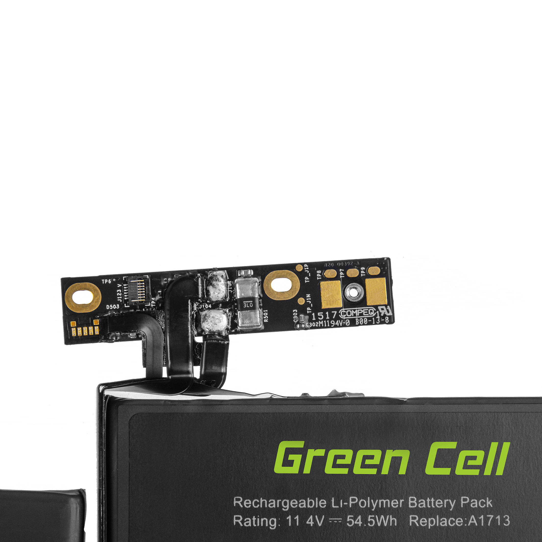 Green Cell Baterie A1713 pro Apple MacBook Pro 13 A1708 (2016 i 2017, 2 ports thunderbolt)