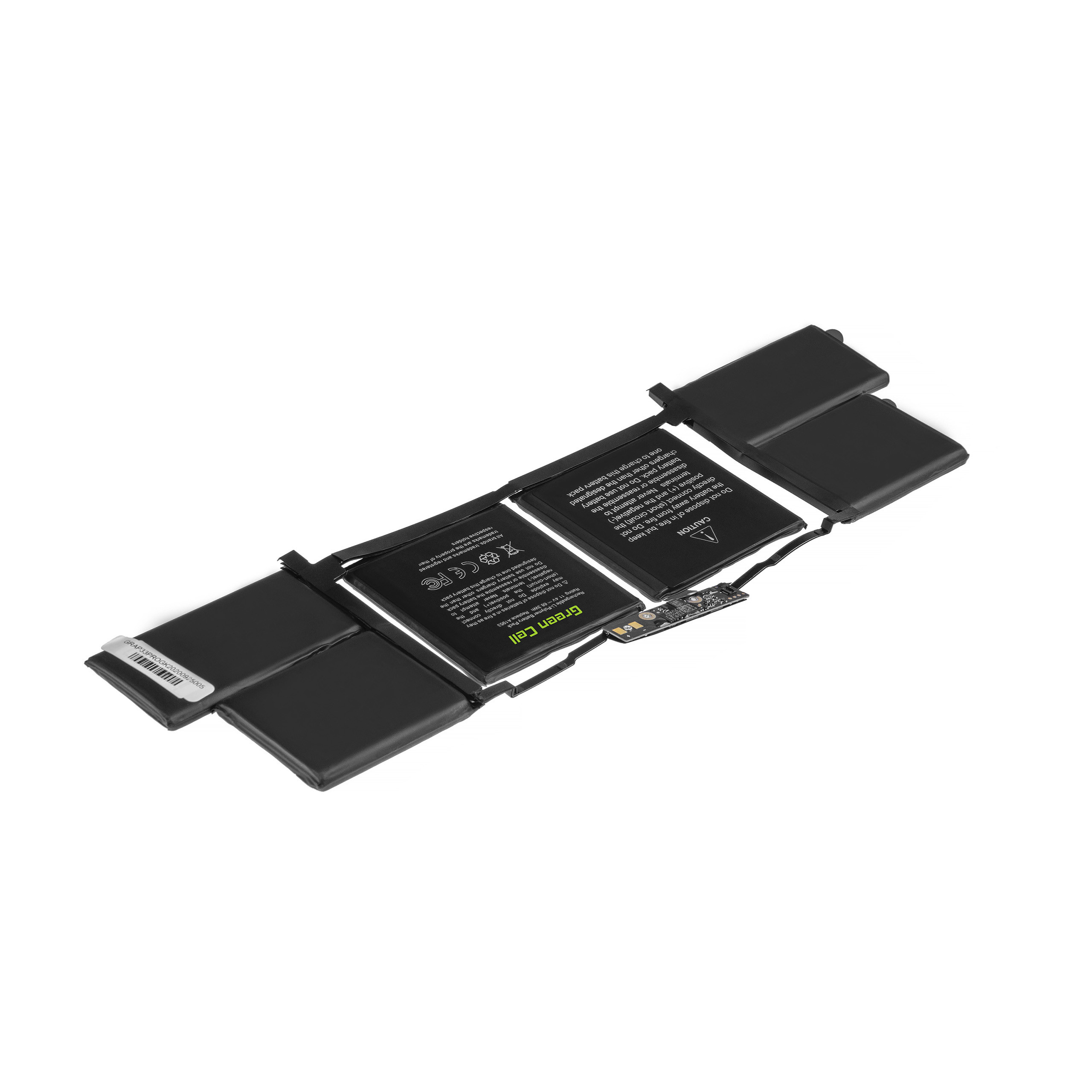 Battery Green Cell A1953 for Apple Macbook Pro 15 A1990 (2018 i 2019)