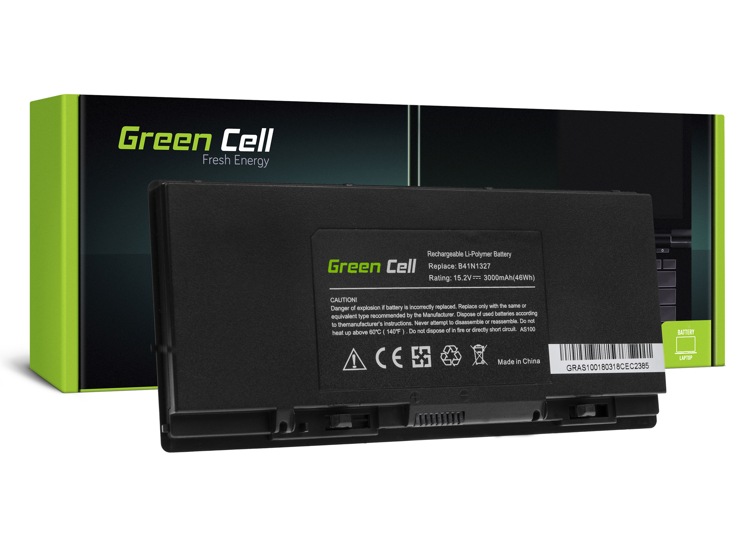 Green Cell Battery for AsusPRO Advanced B551 B551L / 15,2V 3000mAh