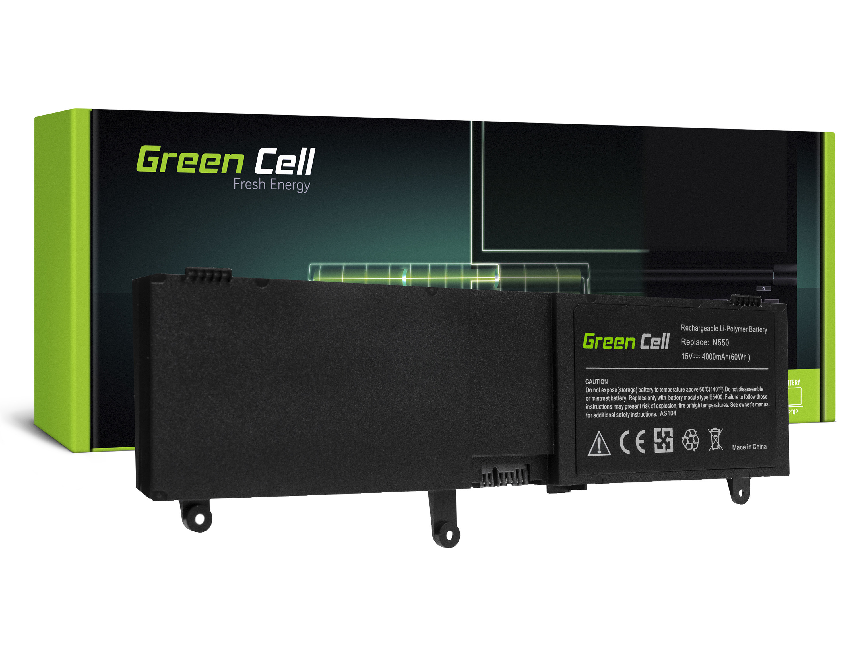 Green Cell Baterie pro Asus ROG G550 G550J N550 N550J / 15V 4000mAh
