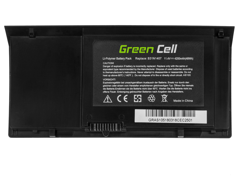 Green Cell Baterie pro AsusPRO Advanced B451 B451J B451JA / 11,4V 4200mAh