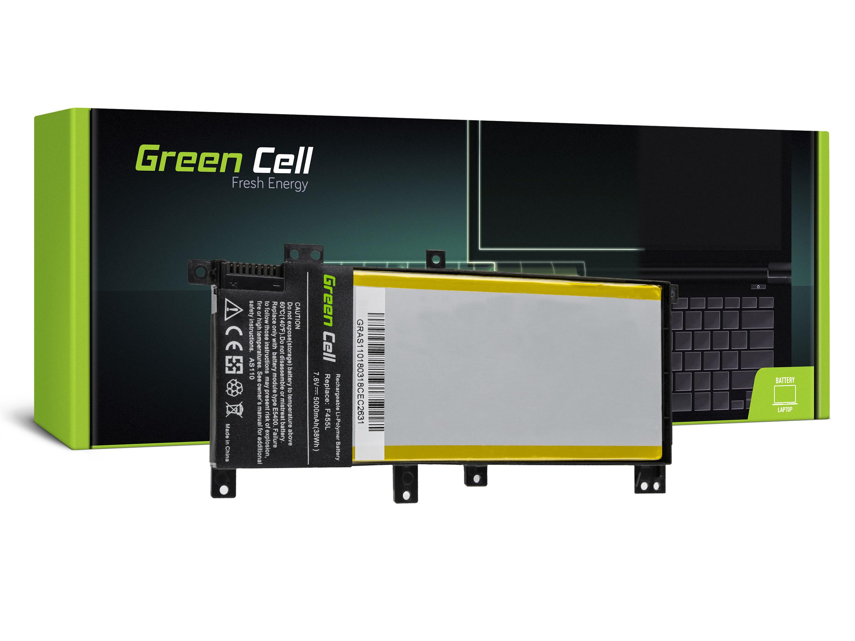 Green Cell AS110 Baterie Asus C21N1401/Asus F455L/K455L/R455L/X455L 5000mAh Li-Pol – neoriginální