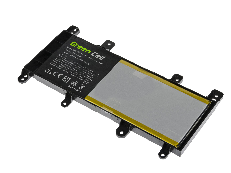 Green Cell AS112 Baterie Asus X756U/X756UA/X756UQ/X756UV/X756UX 5000mAh Li-Pol – neoriginální