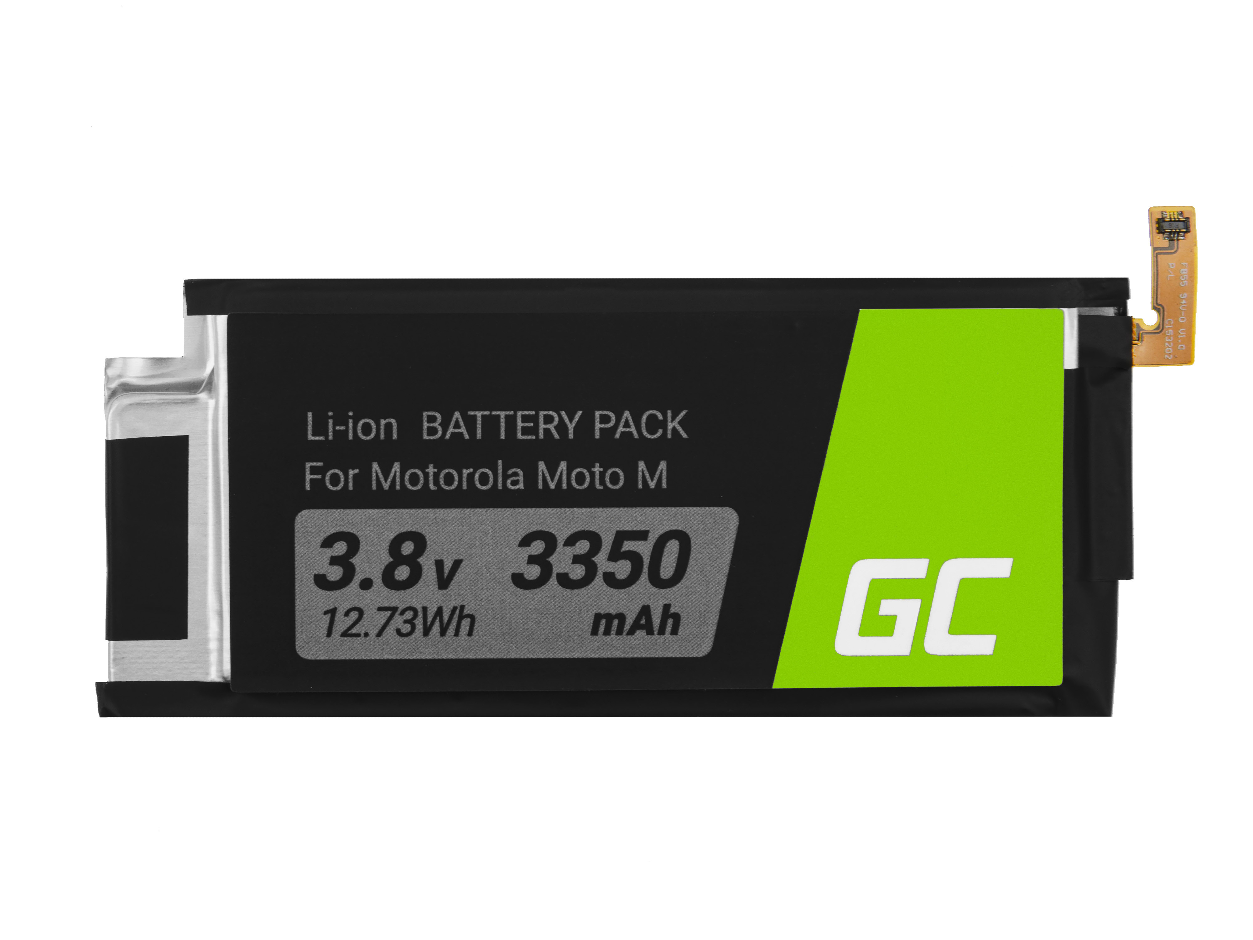 Green Cell BP120 Baterie Motorola FB55, Motorola Moto X Force Moto M 3350mAh Li-Ion – neoriginální