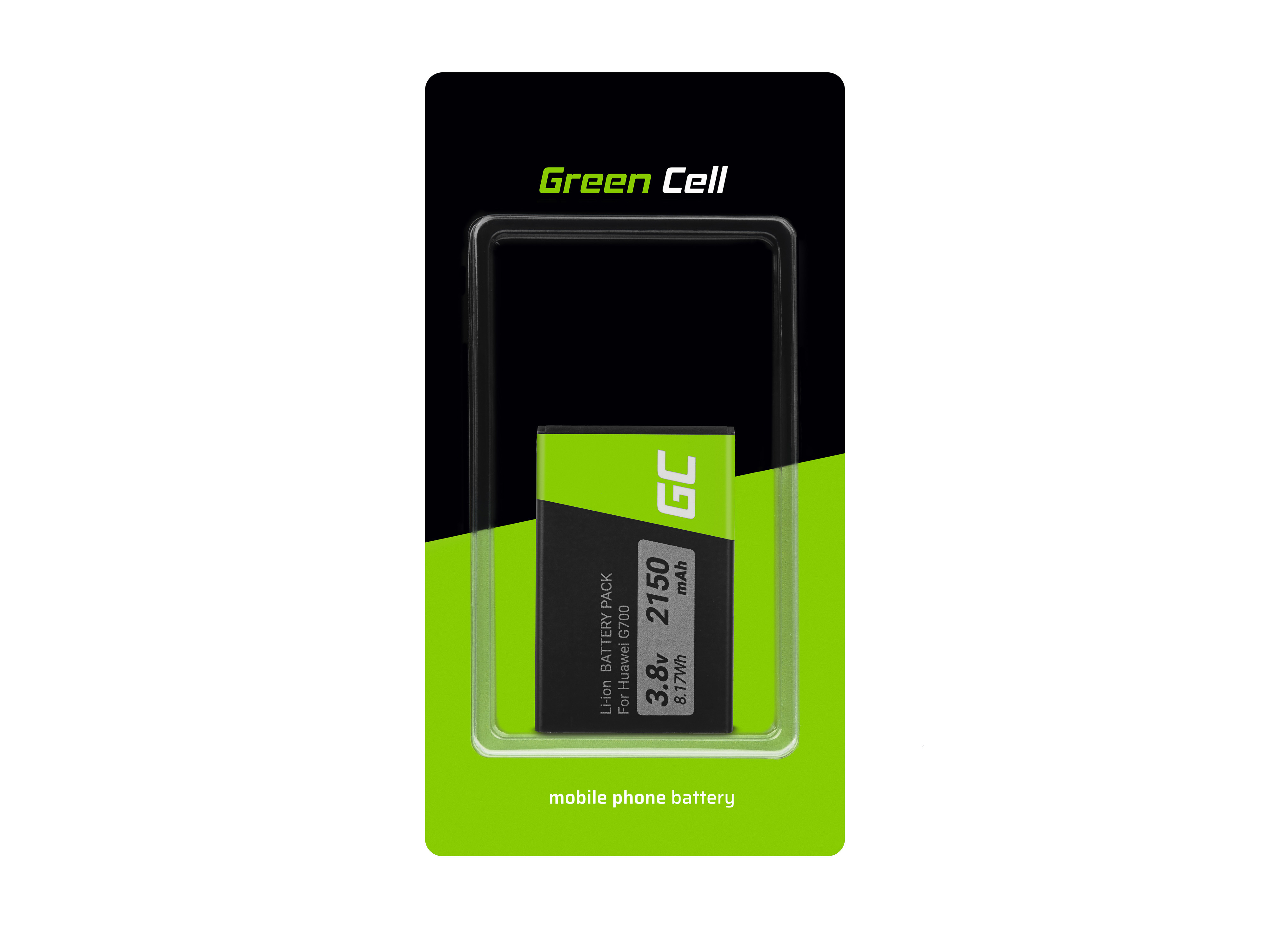 Green Cell Baterie HB505076RBC pro Huawei Y3 YII